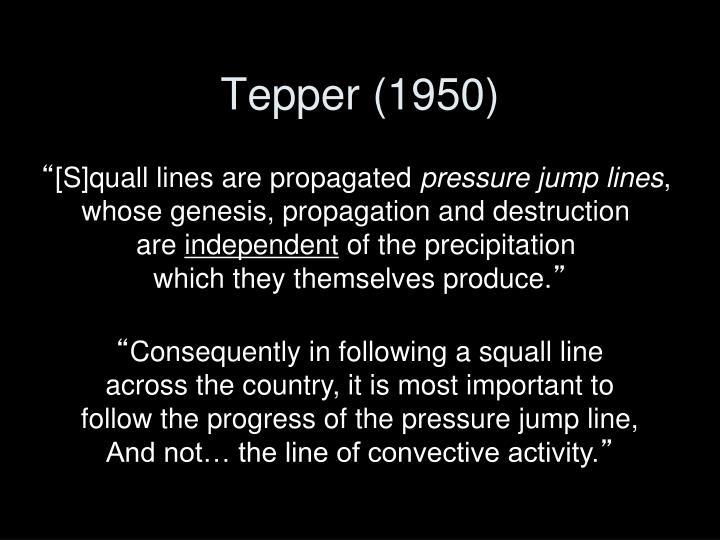 Tepper (1950)