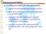 entrepreneurial politics1