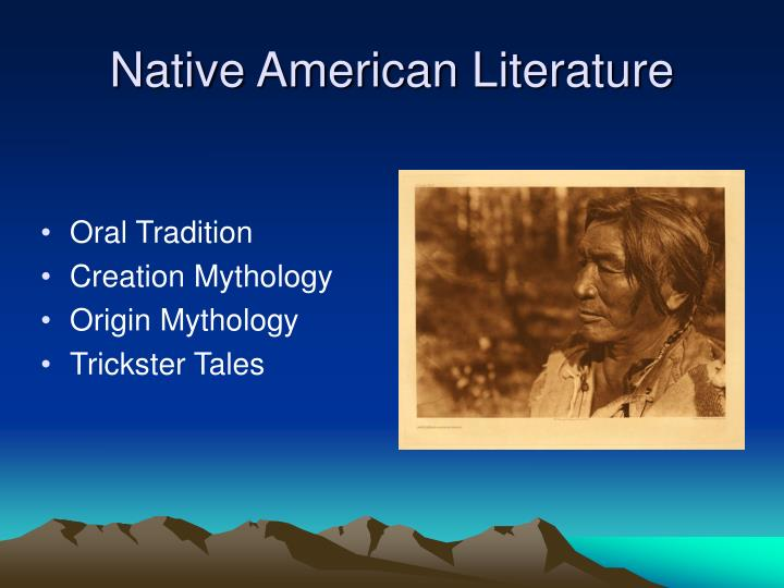 native american literature n.