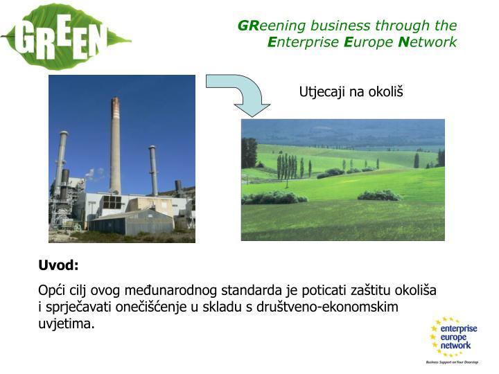 Utjecaji na okoliš