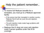 help the patient remember