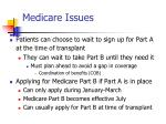 medicare issues