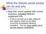 what the dialysis social worker can do and why1