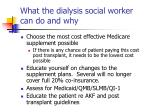 what the dialysis social worker can do and why2