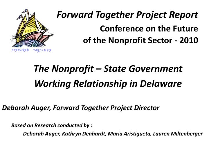 Forward Together Project Report