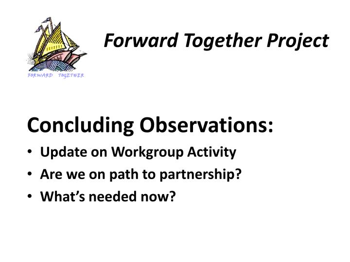 Forward Together Project