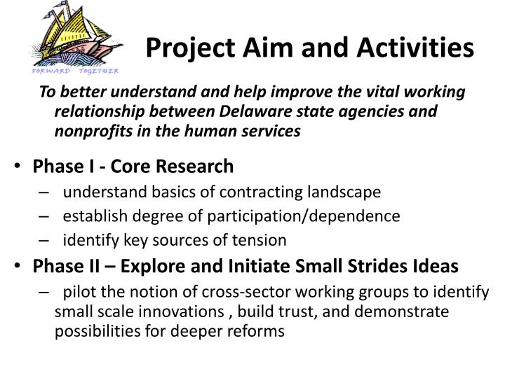 Project Aim and Activities