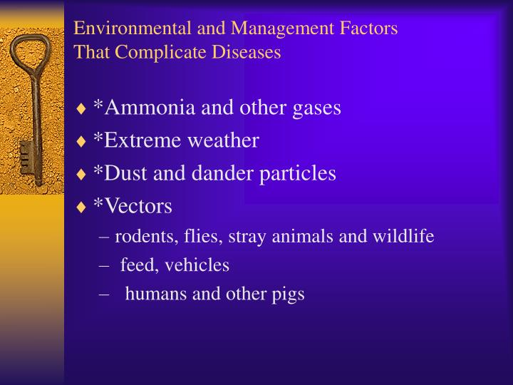 Environmental and Management Factors