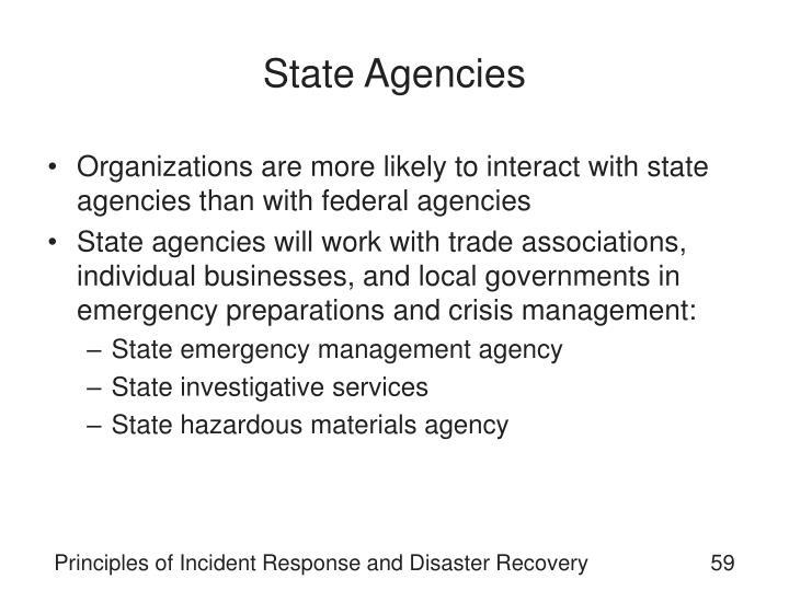 State Agencies