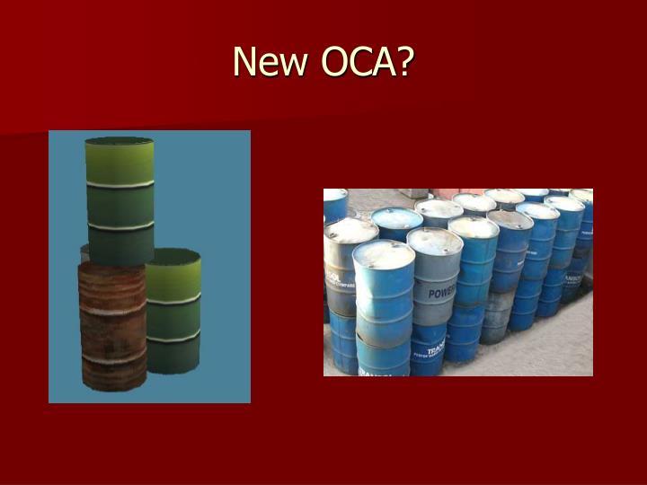 New OCA?