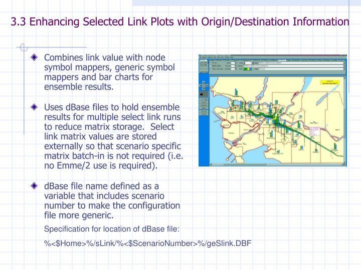 3.3 Enhancing Selected Link Plots with Origin/Destination Information