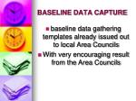 baseline data capture