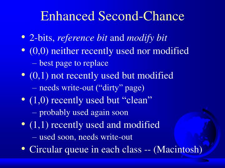 Enhanced Second-Chance