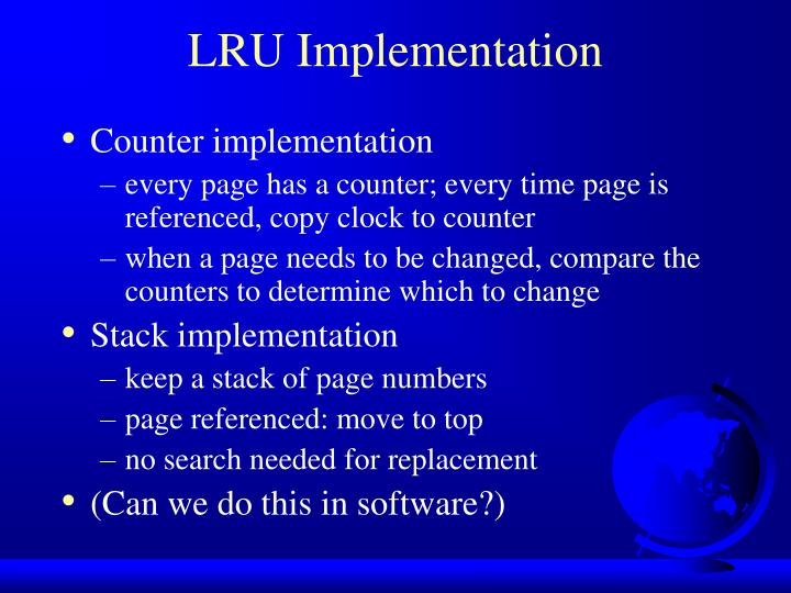 LRU Implementation