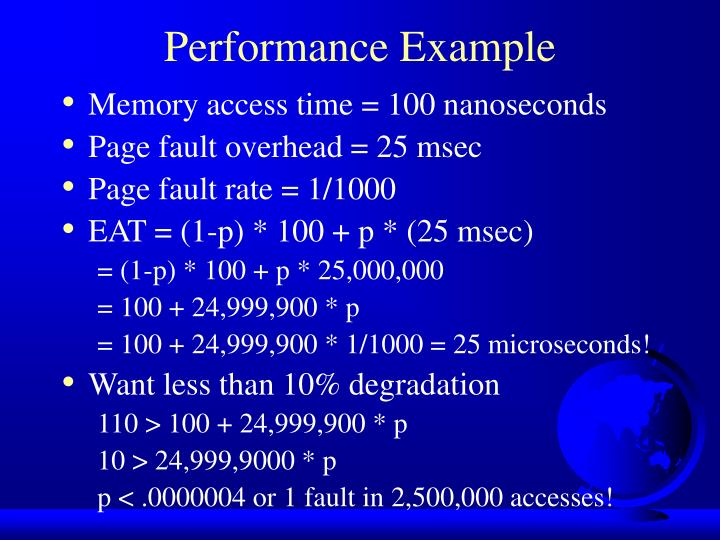 Performance Example