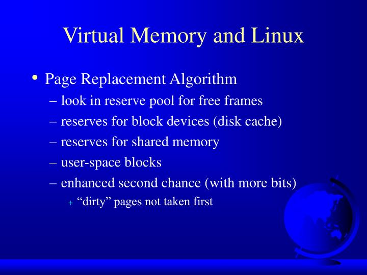 Virtual Memory and Linux