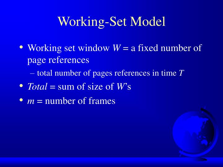 Working-Set Model