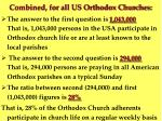 combined for all us orthodox churches