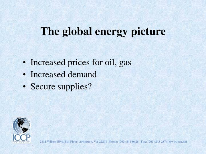 The global energy picture