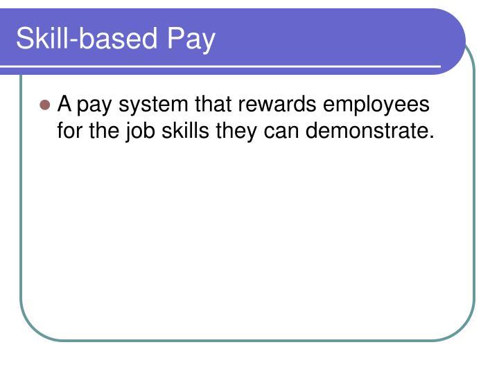 Skill-based Pay