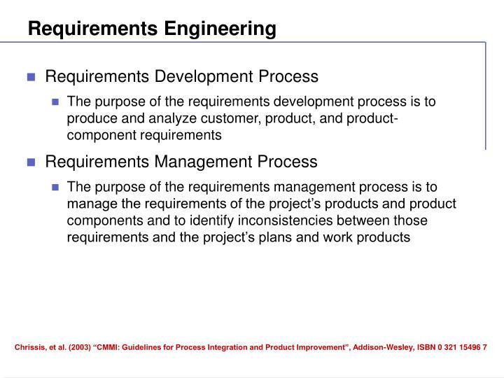 Requirements engineering1