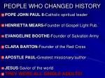 people who changed history26