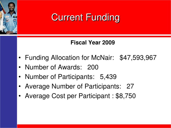 Current Funding