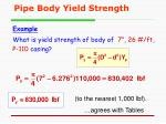 pipe body yield strength1