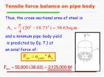 tensile force balance on pipe body2