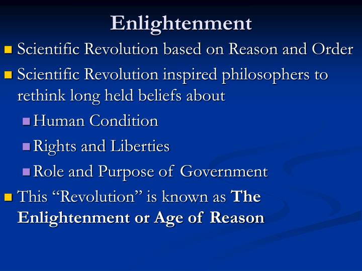 a history of the enlightenment inspired revolutions