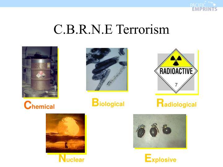 C.B.R.N.E Terrorism