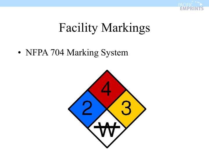Facility Markings