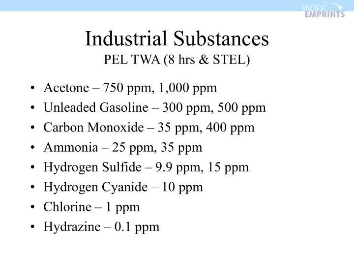 Industrial Substances