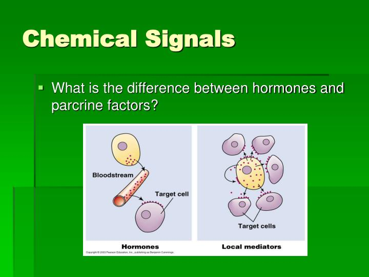 Chemical signals