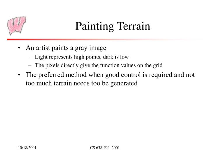 Painting Terrain
