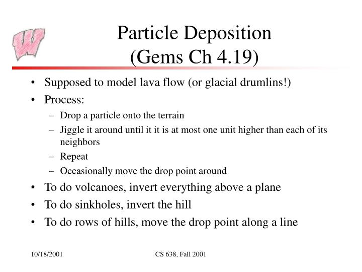 Particle Deposition