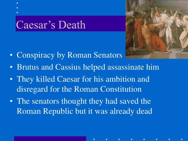 Caesar's Death