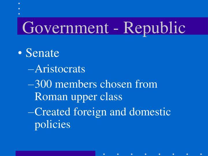 Government - Republic