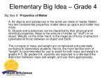 elementary big idea grade 4