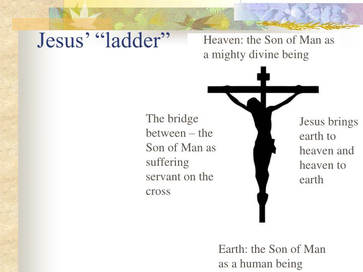 Heaven: the Son of Man as a mighty divine being