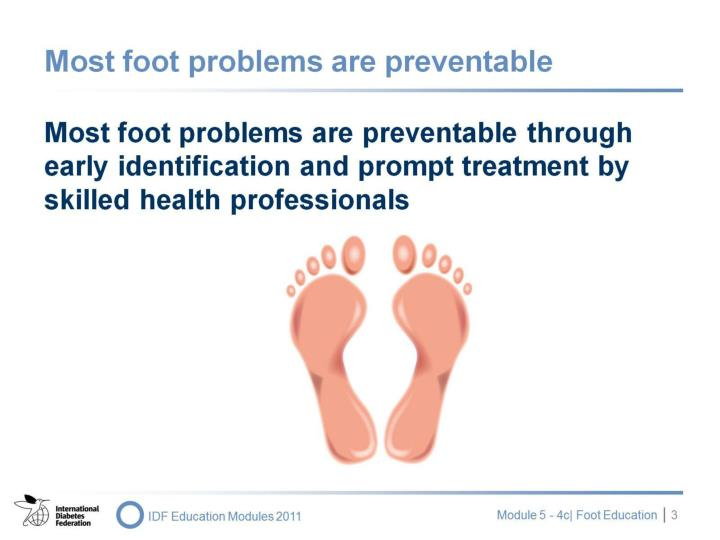 Most foot problems are preventable