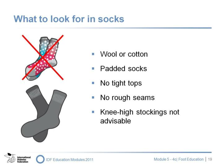 What to look for in socks