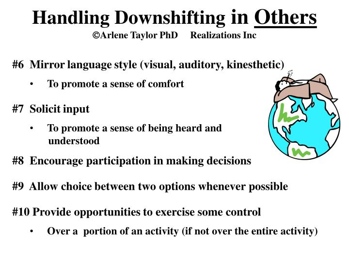 Handling Downshifting