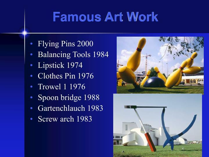 Famous Art Work