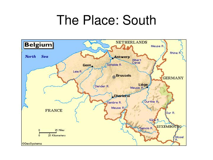 The place south