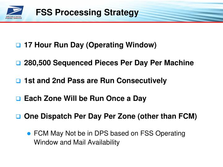 17 Hour Run Day (Operating Window)