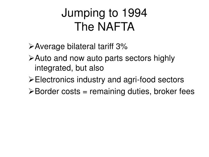 Jumping to 1994