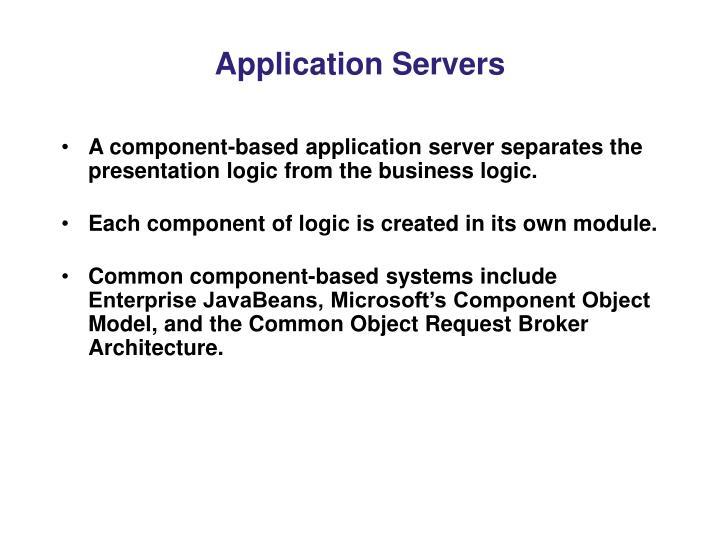 Application Servers