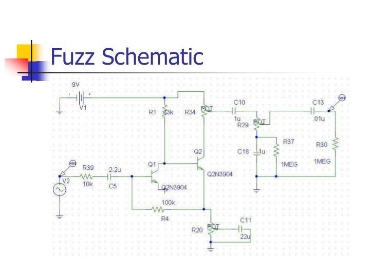 Fuzz Schematic