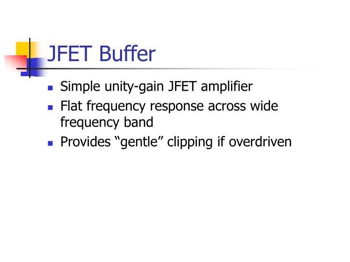 JFET Buffer